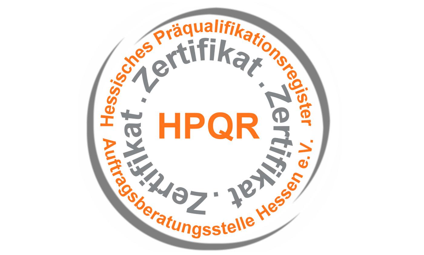 HPQR-Zertifikat